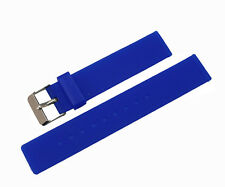 New Soft Rubber Silicone Watch Band Strap Replacement 16mm Watchband