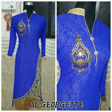 Pretty Long Georgette Kurti / Kurta / Tunic with Inner