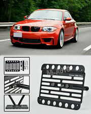 11-Up BMW 1-Series E82 E88 1M Front Tow Hook Mount License Plate Bracket Holder