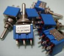 PCK 2, MINI DPDT Toggle Switches-ON ON ON,UL SWITCH