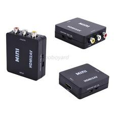 Portable Adapter HDMI 1.3 Standard Female To RCA Audio Video AV CVBS Adapter Hot