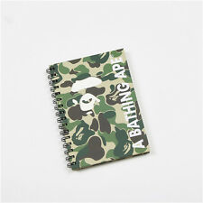 A Bathing Ape Bape 1st Camo Green Note Book Blank Paper Diary Page Office School