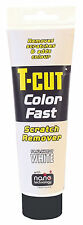 T CUT COLOR FAST CAR SCRATCH REMOVER ABRASIVE COMPOUND ADDS COLOUR - WHITE