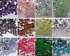 2000pcs Crystal Flat Back Rhinestones Gems Diamante Bead Nail Art Crafts 2MM
