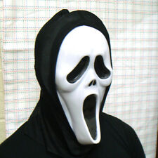 SCREAM STYLE ROBE, MASK, GLOVES & KNIFE, FULL COSTUME