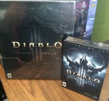 Diablo 3 Reaper of Souls Collector's Edition SEALED PC/MAC PLUS Expansion Set