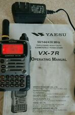 Yaesu VX-7R Tri-Band Handheld Submersible Transceiver