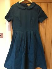 Lindy Bop 14 Swing Teal Pinup Retro 50s Rockabilly Dress