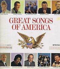 GOODYEAR Great Songs of America Vinyl 33 LP 4th of July Music Record VG+ Stereo