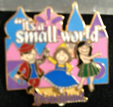 Disney DL - 1998 Attraction Series - It's a Small World Pin