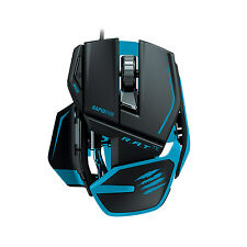 Mad Catz R.A.T TE RAT Gaming Mouse 8200 dpi Laser Sensor Black / Blue