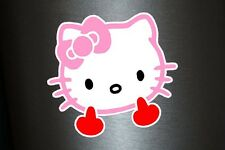 1 x Aufkleber The Kitty Shocker Hello Katze Tuning Sticker Autoaufkleber Fun Gag