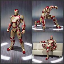 Iron Man Marvel Action Figure 18cm Mark   Toys Legends Avengers Gift Box