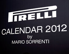 2012 pirelli calender new in box NEW  with Pirelli Black Bag Mario Sorrent