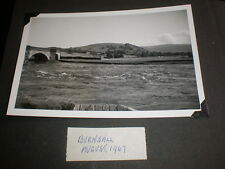 Old amateur photograph Burnsall 1967