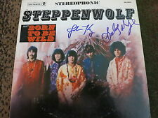 JOHN KAY SIGNED STEPPENWOLF LP BY 2 EXACT PROOF! COA IN PERSON AUTOGRAPHED
