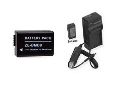 Battery + Charger for Panasonic DMC-FZ40 DMC-FZ40K DMC-FZ45 DMCFZ45 DMCFZ100