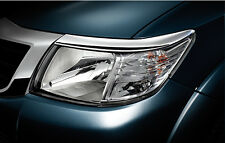 Genuine Toyota Hilux SR5 MK7 Chrome Front Head Light Lamp Cover Trim 2012 13
