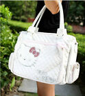 HelloKitty Zipper Cross Body Messenger Handbag Tote Shoulder Bag 2016 New White