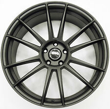 RUFF RACING 959 20 x 8.5 BLACK RIMS WHEELS DODGE CHARGER AWD 5H +35