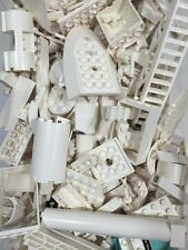 Lego 1/2 Pound Lot Of White Modified & Specialty Bricks At Random From Bulk