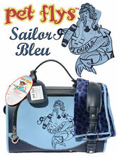 Pet Flys Sailor Bleu Pet Carrier Small Size for Pets to 11 lb Model 101 S