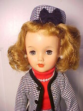 """Vintage 1950s 18"""" MISS REVLON DOLL - VT-18 in Tailored Suit with Poodle Dog"""