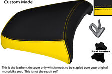 YELLOW AND BLACK CUSTOM R 1200 GS FITS BMW REAR PASSANGER 04-12 SEAT COVER