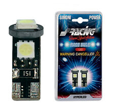 ALFA 147 156 LUCI LAMPADINE TARGA a LED NO ERROR SUPERBIANCHE SIMONI RACING