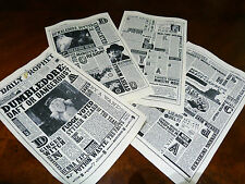 The Daily Prophet newspaper 8 pages Not so perfect Harry Potter prop