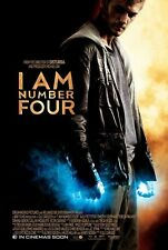 I Am Number Four movie poster : 11 x 17 inches : Alex Pettyfer poster