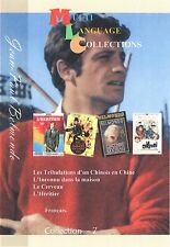 Jean-Paul Belmondo. Multilanguage Collection 7. French.  4 movies
