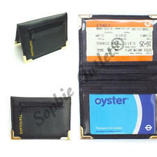 New High Quality Black Credit Bank Travel Card Holder With Zipped Coin Pocket
