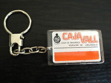 CAJA VALL VALLADOLID BANCO BANK SPAIN LLAVERO KEY RING KEYCHAIN PORTE CLES (37)