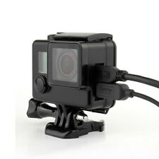 New Black Skeleton Housing Case fits to GoPro HERO 3 3+ 4 with Side Opening