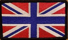 UK UNITED KINGDOM Flag Patch With VELCRO® Brand Fastener Morale Emblem III