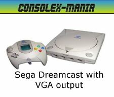 Sega Dreamcast with VGA Output & LINK83 Bios - 90 Day Warranty FREE P&P