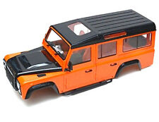 RC 1/10 LAND ROVER DEFENDER 110 WAGON W/ INTERIOR Scale Truck Hard Body -SNORKEL
