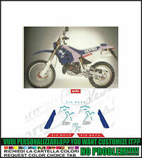 kit adesivi stickers compatibili  rx 125 six days 1990