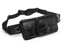 Men Waist Sling Chest Bag Travel Moto Shoulder Messenger Belt Fanny Pack Pouch