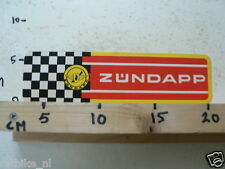 STICKER,DECAL VINTAGE ZUNDAPP, ZÜNDAPP LARGE MOTORCYCLE