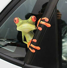 3D Frog Funny Car Sticker Truck Window Decal Graphics