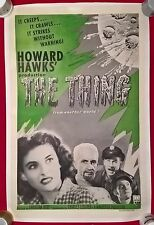 THE THING FROM ANOTHER  WORLD- R-1957: -US 1 SHEET.RKO RADIO PICS 27 X 41 INCHES