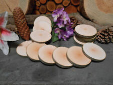 """Birch...25  count   3""""  Wood Slices for crafts/weddings"""