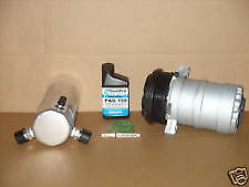 NEW AC COMPRESSOR AND DRIER INSTALL KIT 20208 INCLUDE MODEL YR & ENG SIZE