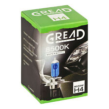 H4 GREAD 60/55W 8500K XENON LOOK OPTIK HALOGEN LAMPEN E-PRÜFZEICHEN SUPER WHITE