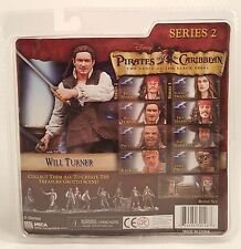 Disney Pirates of the Caribbean Series 2 WILL TURNER Action Figure ~NECA~
