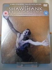 Blu ray steelbook The Shawshank Redemption UK exclusive New&sealed NEUF sans VF