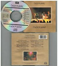 Deep Purple ‎– Made In Japan, CD 1989