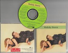 WORKSHY Heaven 1993 Japanese 10-track promo sample CD